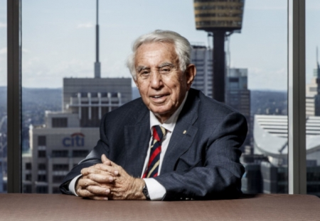 Harry Triguboff, founder of the Meriton.