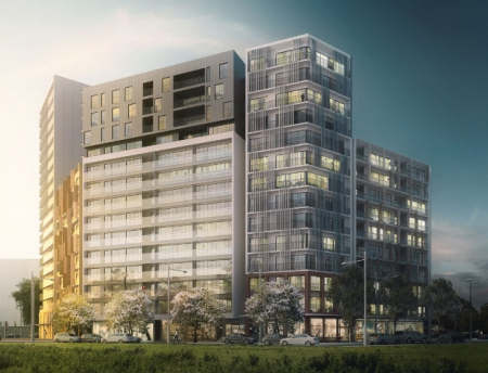 Artist impression of the Pitt St Merrylands project.