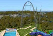 Penrith Council has said it lacks the resources to investigate the feasibility of introducing a theme park to the city similar to Wet n Wild, pictured above.