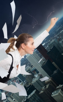 Super business women and the stress factor
