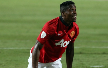 United's Wilfried Zaha.