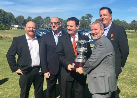 Penrith Mayor Cr John Thain joined Member for Penrith, Stuart Ayres and Councillor Ben Price, Councillor Mark Davies and Councillor Greg Davies at Twin Creeks Golf & Country Club for the announcement.