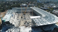 Western Sydney Stadium under construction and due for completion in 2019.