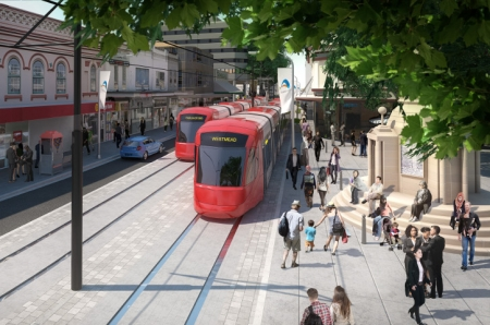 Parramatta Light Rail: exmaple of a major government project.