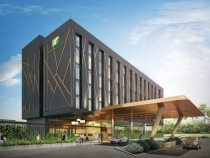 Artist impression of the new hotel.