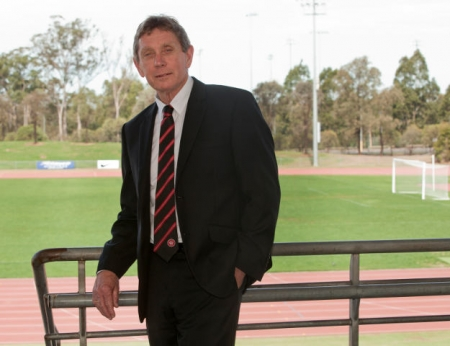 Lyall Gorman, Executive Chairman of the Western Sydney Wanderers.