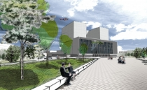 Artist impression of the revamped hospital.