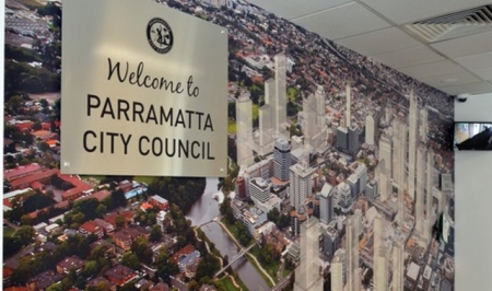 PARRAMATTA COUNCIL SUSPENDS ITS CEO