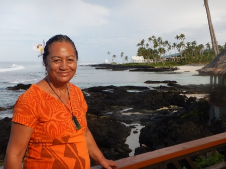 Ramona Su'a Pale Gilchrist. Return to Paradise Resort.