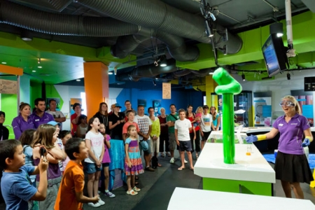 Questacon helps engage young people with science, technology and engineering.