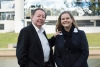 "After a lifetime in Parramatta, I feel I have a lifetime to give,"" said Paul Garrard who will run for Cumberland Council while daughter Michelle will ""continue Paul's legacy"" and run in neighbouring Parramatta. Photo: Sebastian Giunta."