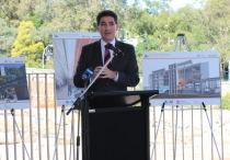 Geoff Lee at the Westmead Hospital Redevelopment site.