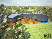Artist's impression of the planned International Centre of Training Excellence.