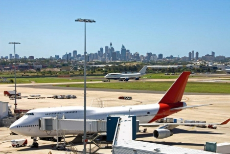 Design of Badgerys Creek will offer different opportunities from Sydney Airport, pictured.w opp