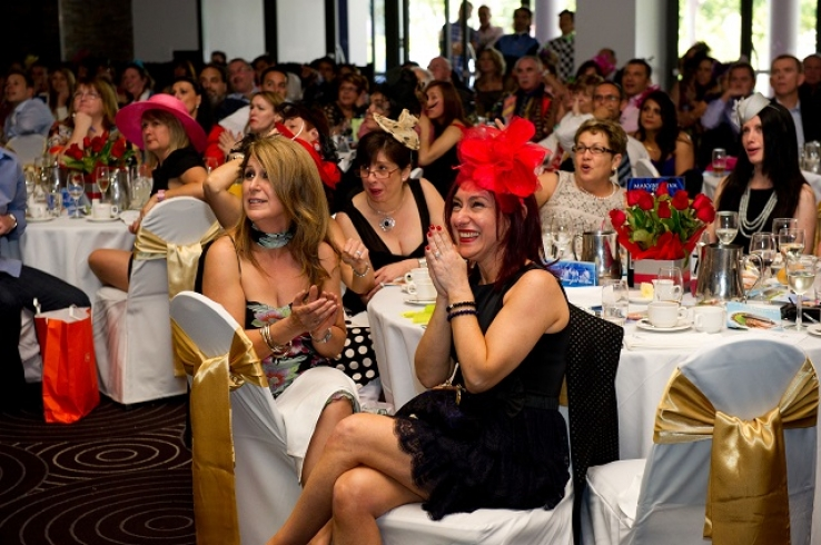 Last year's Melbourne Cup celebrations at Waterview