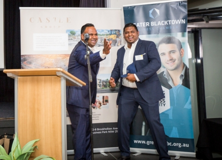 Castle Group founders and Directors Ritchie Perera and Kren Moodley.