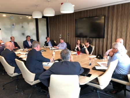 The EXPORT round table in action at KPMG Parramatta.