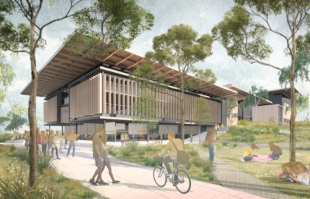 Artist impression of the project.