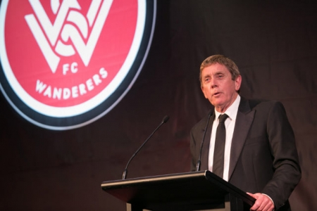 Wanderers executive chairman, Lyall Gorman.
