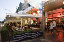 Eat street in Parramatta.