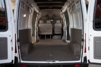 The cargo area of the LDV: A high value light commercial.