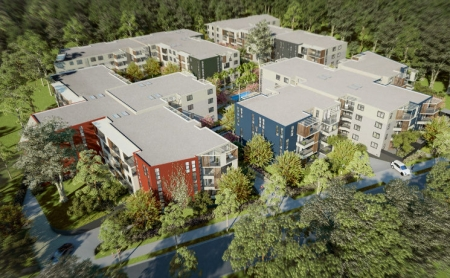 Artist impression of the Evergrand development at Rouse Hill.