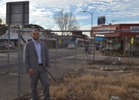 Dyldam Development Manager Remon Fayad at the proposed development site in Merrylands.