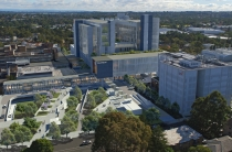 artist impression of a transformed Westmead.