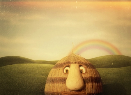 Grug and The Rainbow.