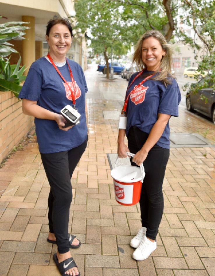 The Salvos continue their work: Western Sydney Appeal launch
